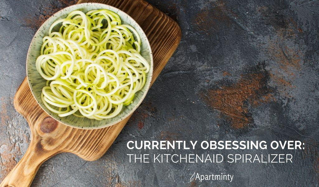 Currently Obsessing Over: The KitchenAid Spiralizer Attachement