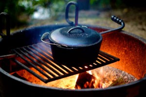 reasons to use a cast iron