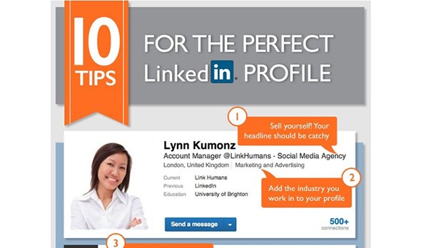 10 Tips for the Perfect LinkedIn Profile [Infographic]
