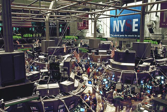 Computers Come To Wall Street. NYSE Trading Floor.
