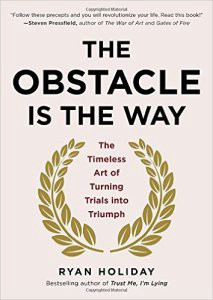 Book Cover: The Obstacle is the Way: The Timeless Art of Turning Trials into Triumph (Hardcover)