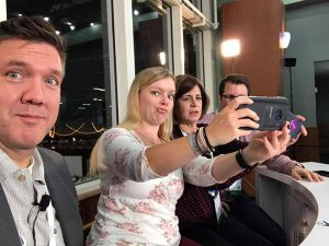 Fun with the Community Reporters team at MSIgnite