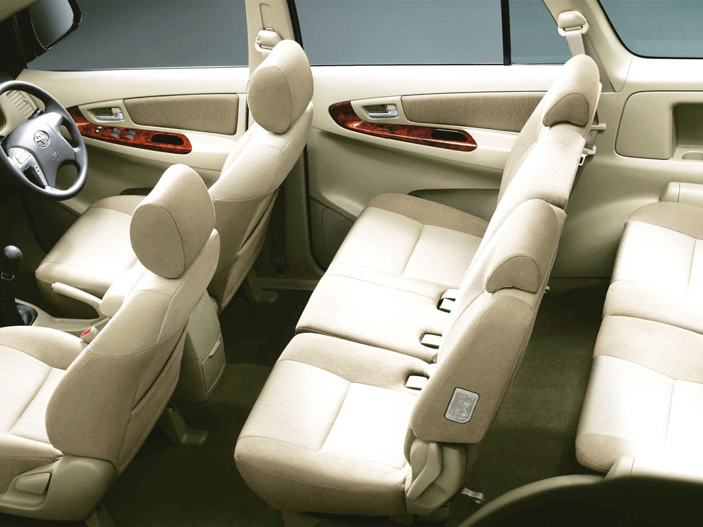 The Innova Is One 7 Seater Where Third Row Passengers Are As Comfortable Second Ones
