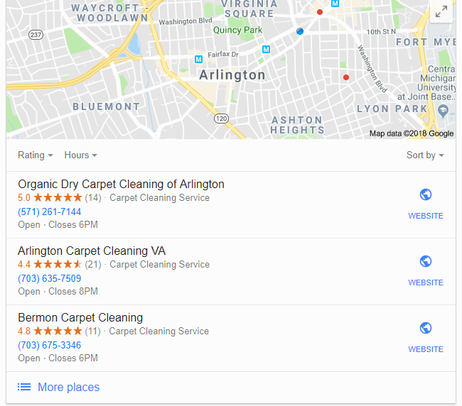 How to create a Google Business page - map listings
