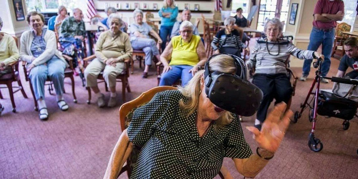 This Charity Helped The Elderly Revisit Their Childhood Homes Using #VirtualReality  #VR