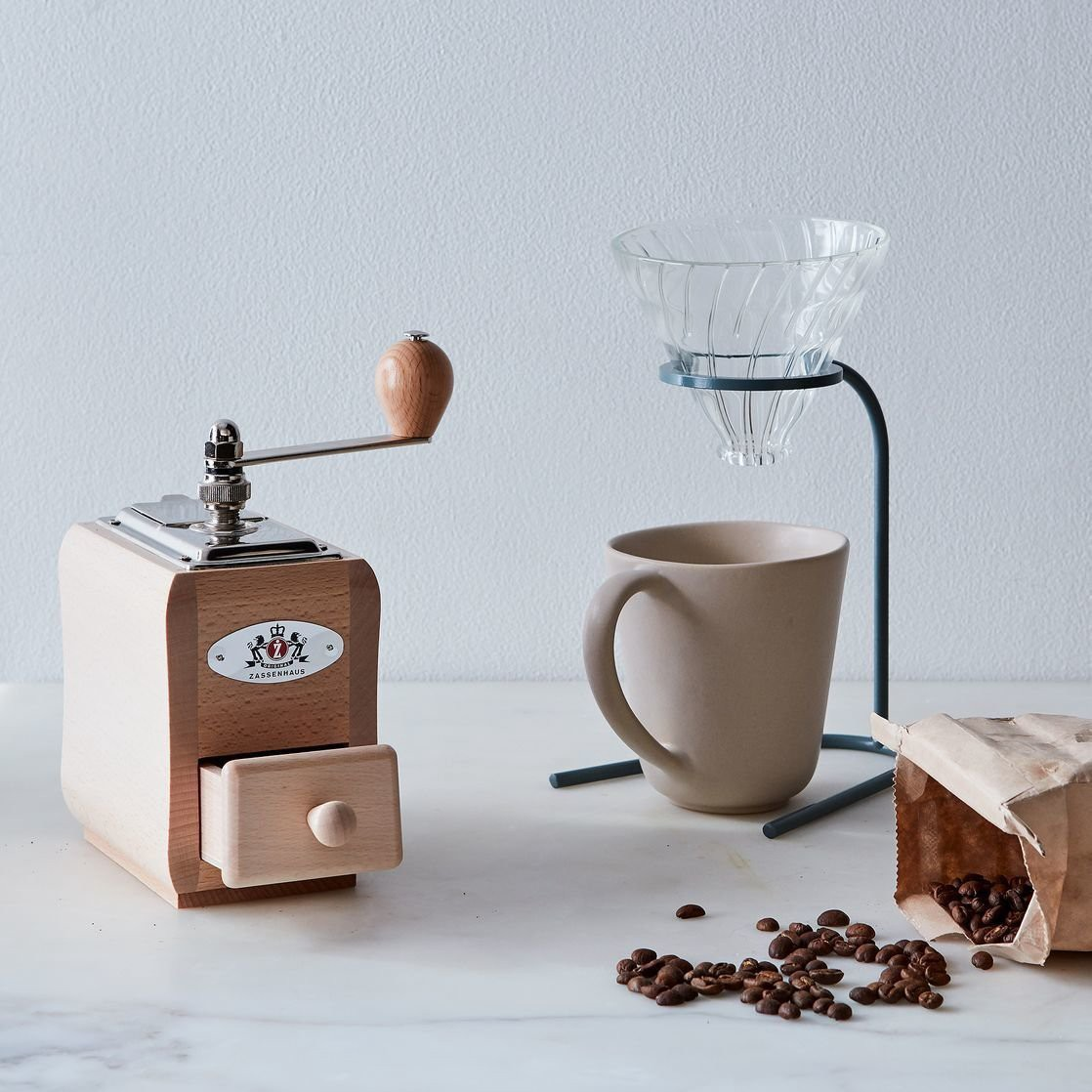 Minimalist Coffee Pour-Over Stand