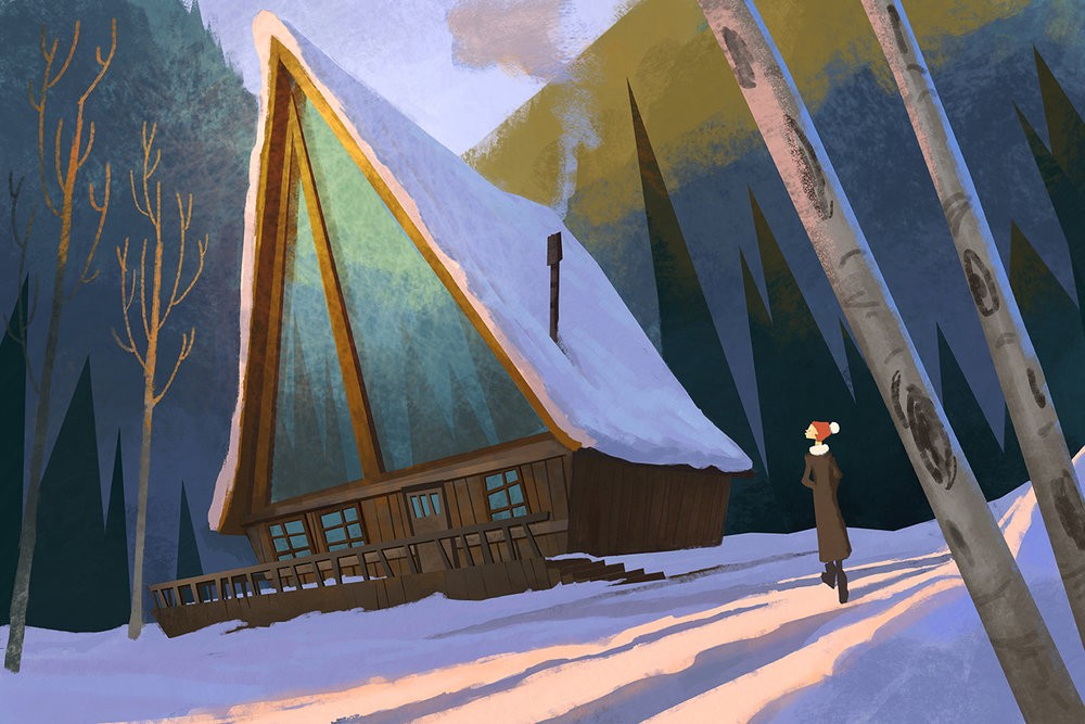 tyCarter_graphicIllustration_s11_SnowyCabin_site