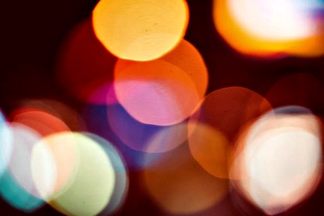 bokeh photography effect lights