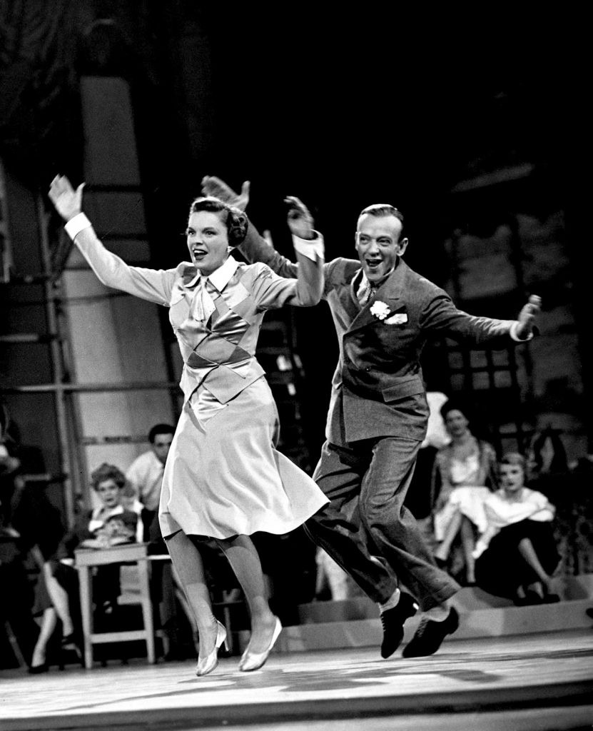 Fred Astaire and Judy Garland in Easter parade, 1948