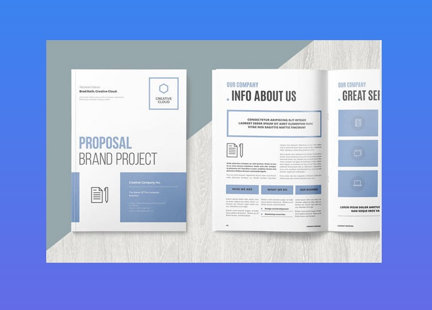 20 best proposal templates best digital themes medium this flexible business proposal template is useful for wide variety of projects take advantage of its flexibility and it just may become your go to wajeb Images