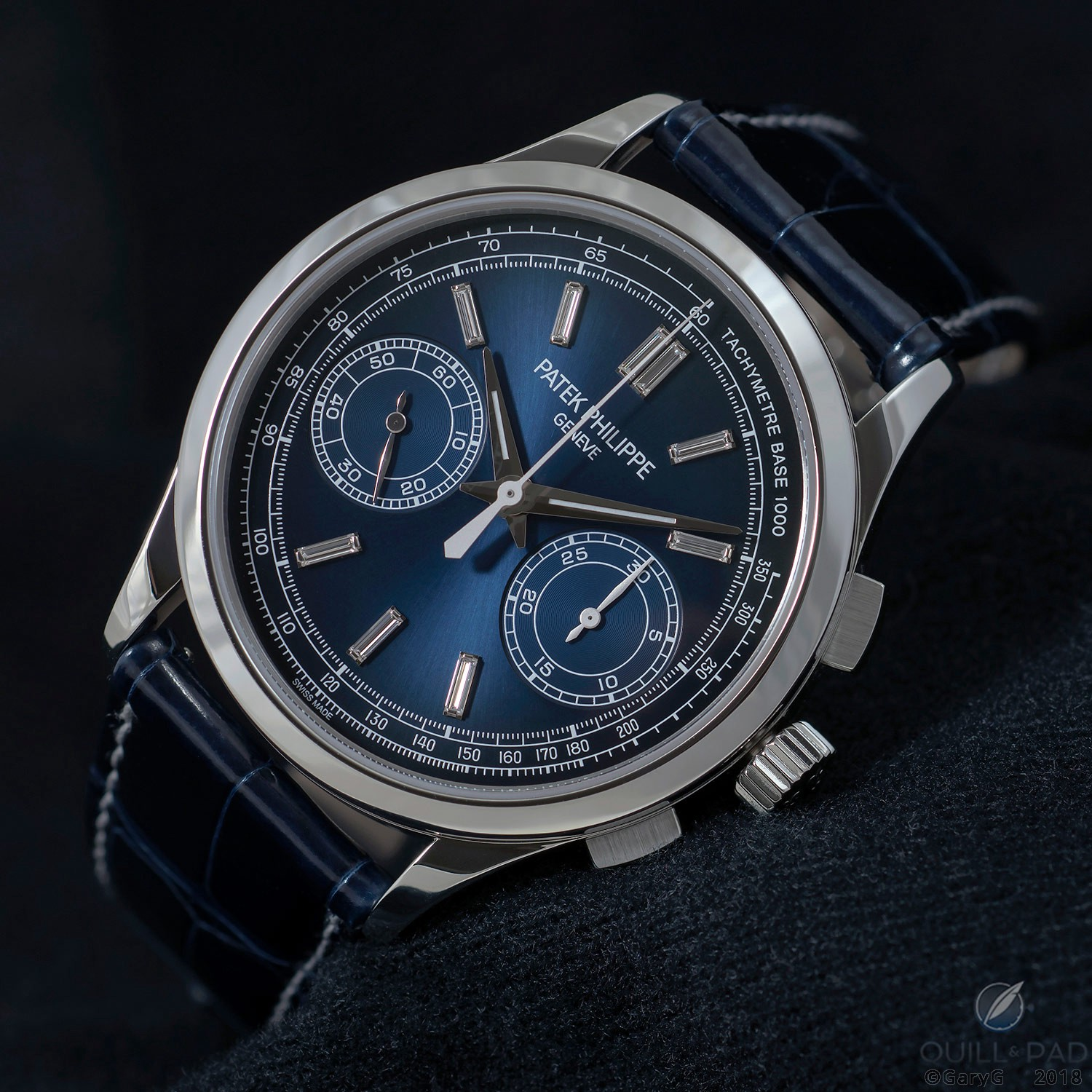 The new generation: Patek Philippe Reference 5170P in platinum with diamond indices