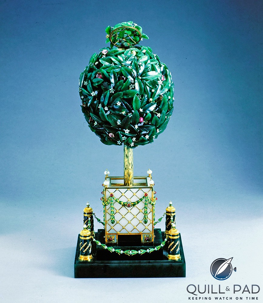 The Fabergé Bay Tree imperial egg of 1911