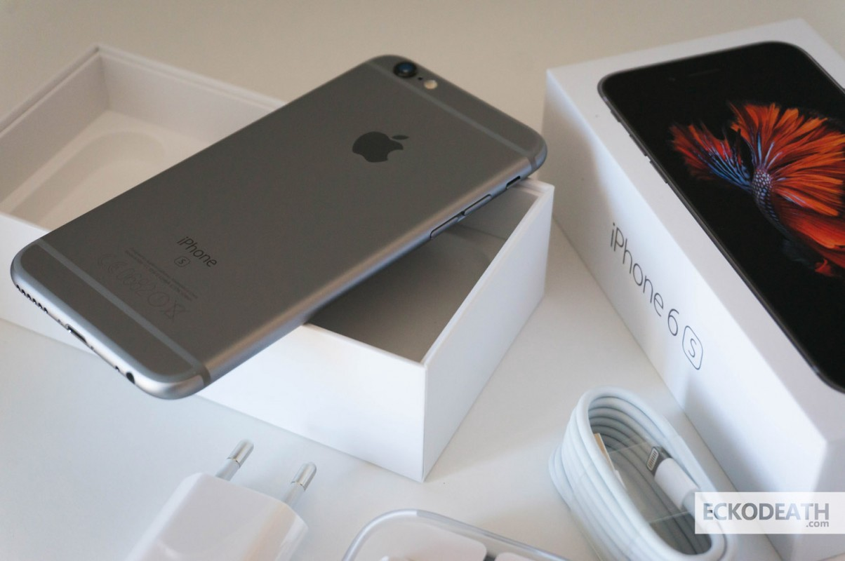 iPhone 6S Space Gray unboxing (13)