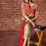 Khaadi embroidered cambric fall collection fashion 6