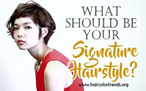 signature hairstyle