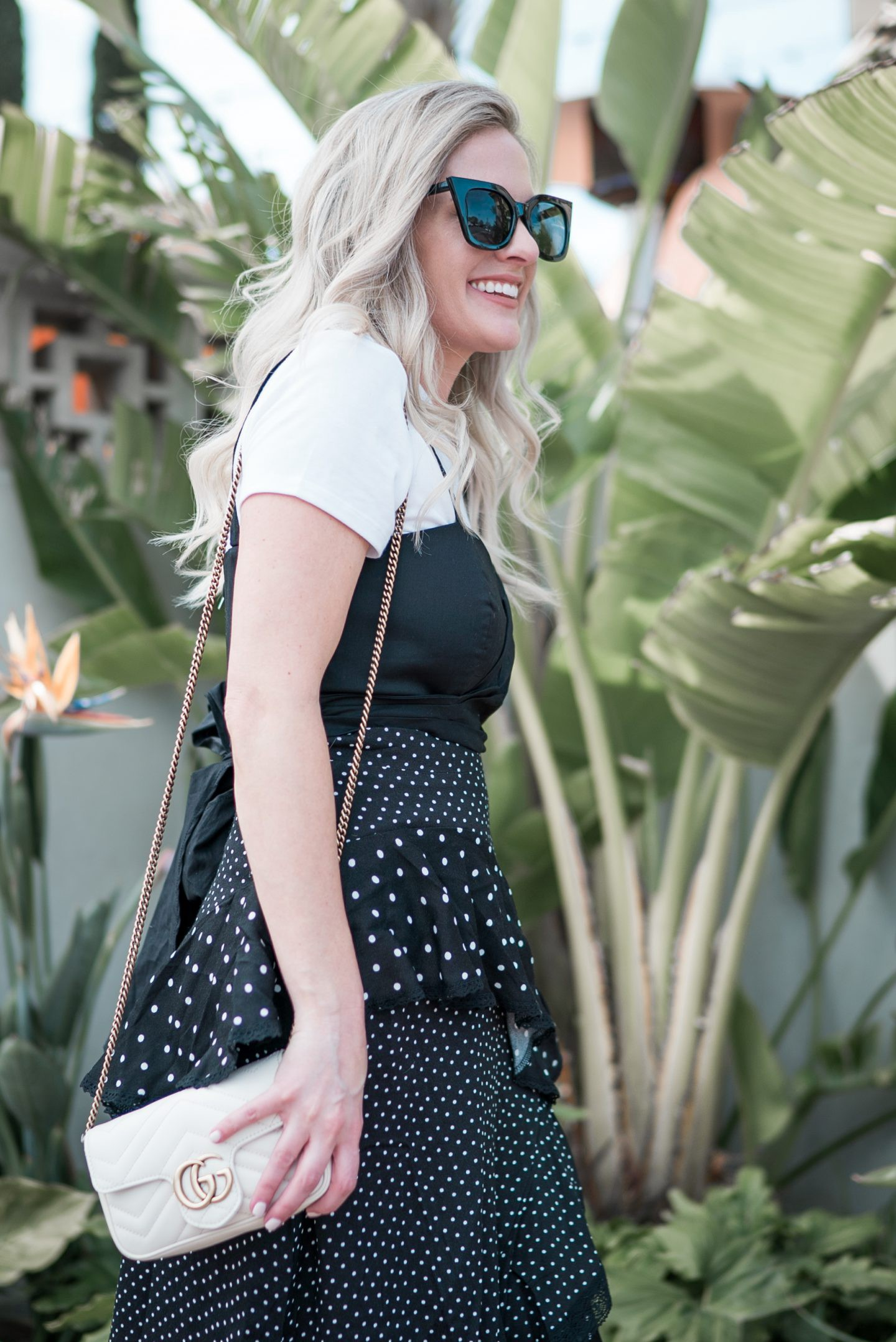 My Favorite Black and White Outfits by popular Orange County fashion blogger Dress Me Blonde