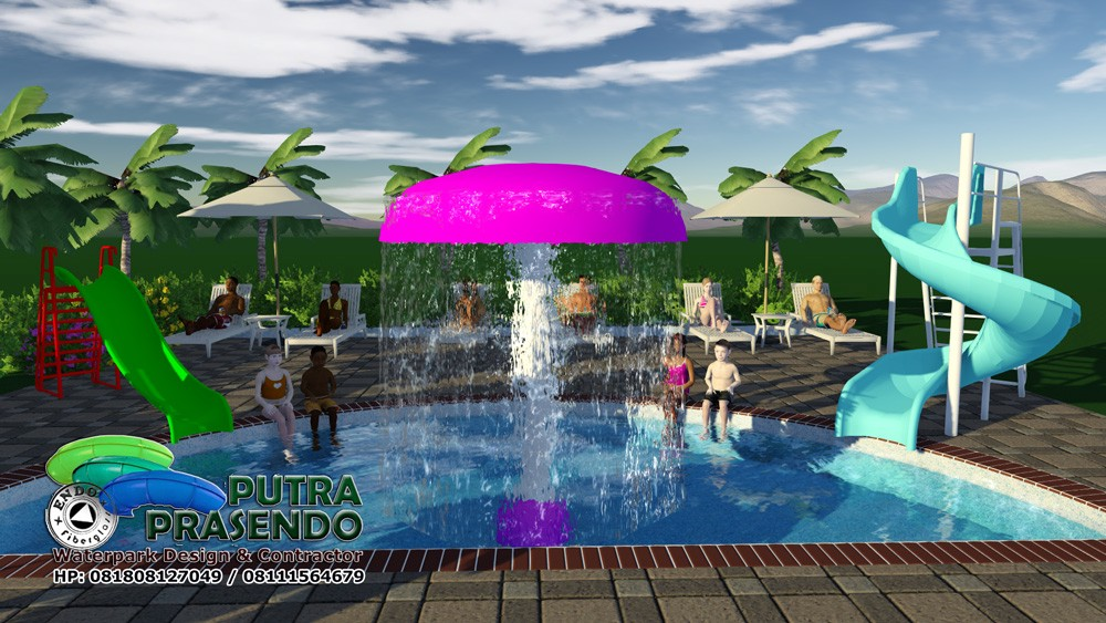 Jamur Air Waterpark Murah 4