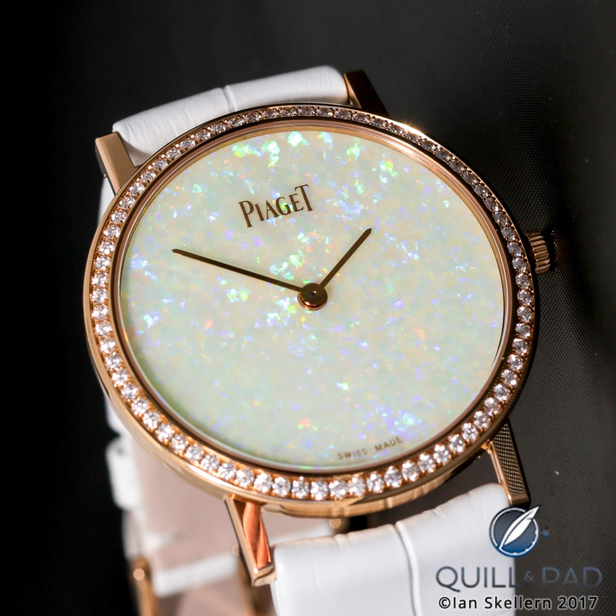Piaget Altiplano 34mm Hard Stone Dial Opal