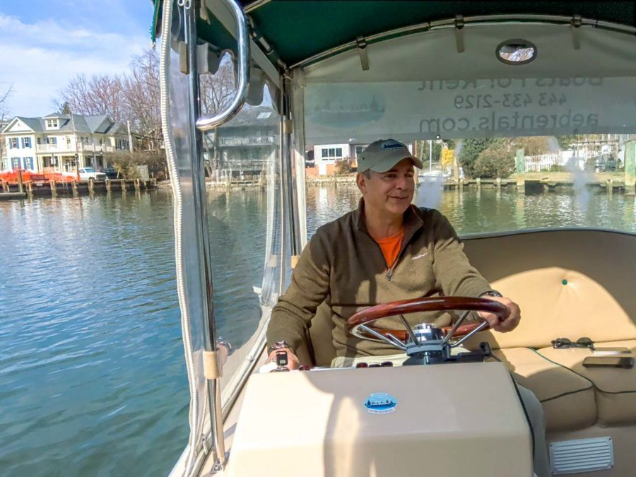 Greg Horne of Annapolis Electric Boat Rentals