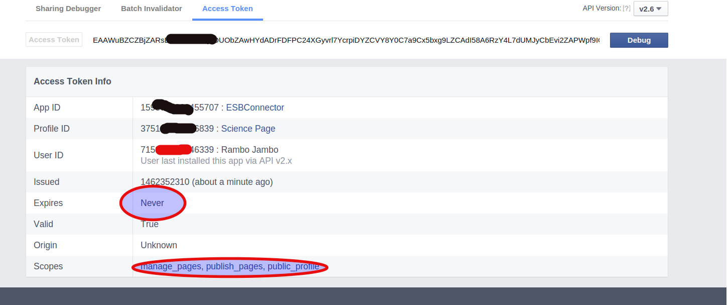 - 0 ckW0cGFiHRVOKBhr - How to create never expires Access Token for Facebook Page