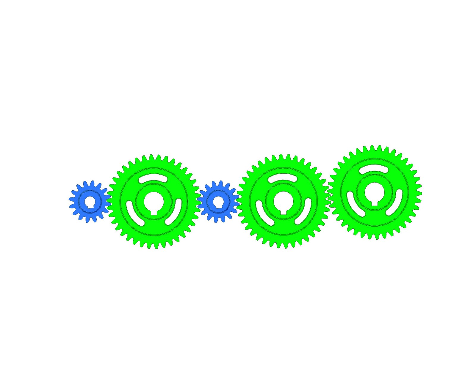 Spur Gear Train 2
