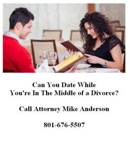 Dating while getting a divorce