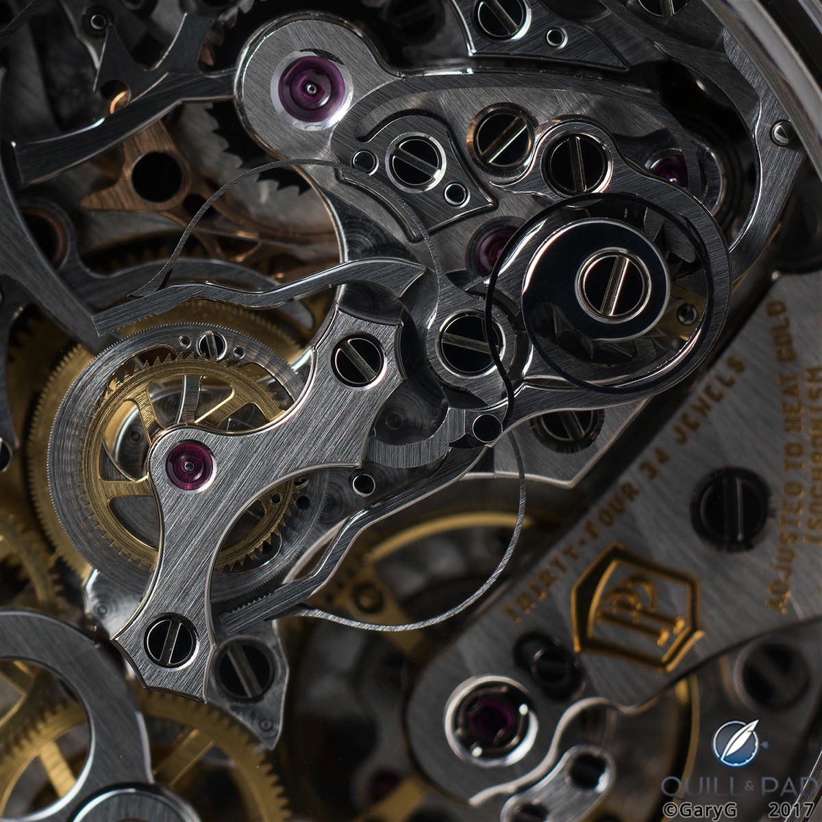 Form and function: improved rattrapante mechanism of Patek Philippe Caliber CHR 29-535 PS