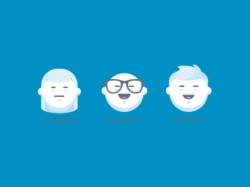 Guys Avatar icons by AI Power