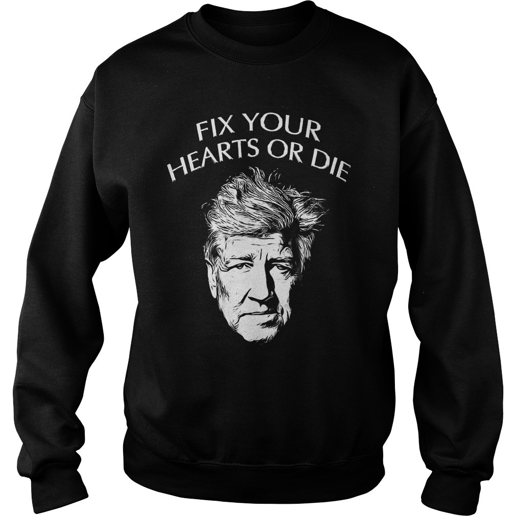 Twin Peaks Fix Your Hearts Or Die Shirt Tees Myphoto Medium