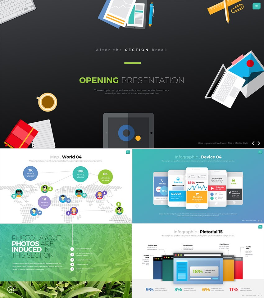 15 best powerpoint templates best digital themes medium digit one stop awesome business powerpoint design this awesome ppt template is great toneelgroepblik Choice Image