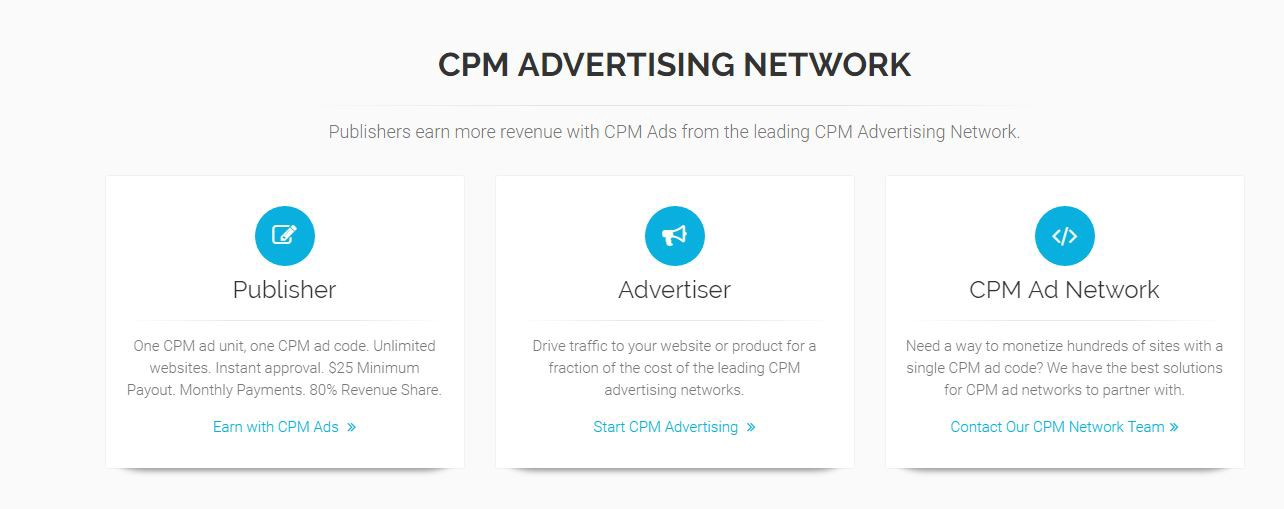 Top 11 Cpm Ad Networks For Publishers 2017 Edition