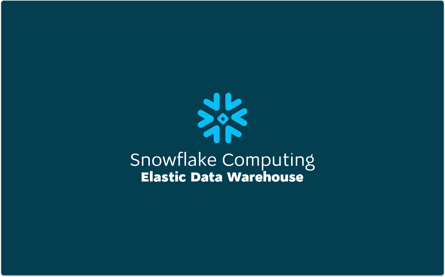 8 Reasons It's Time To Consider Getting Your Hands On An Anytime Modern Snowflake Warehouse