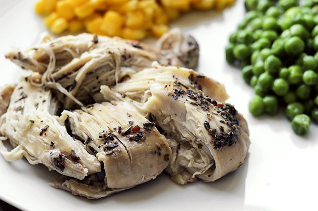slow cooker beer chicken and vegetables
