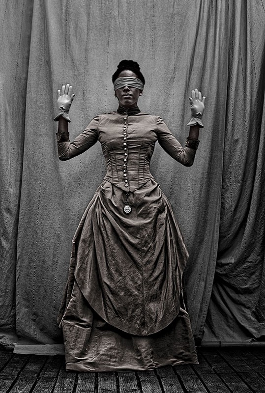 He Who is as If Death, from the series, To Kill or Allow to Live. © Ayana Jackson /courtesy Galerie Baudoin Lebon.