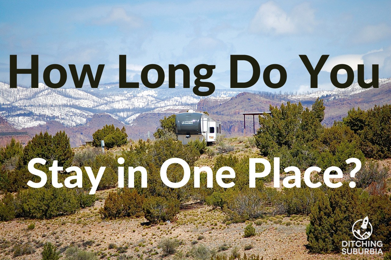 How Long Do You Stay in One Place?