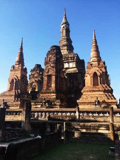 Sukhothai Ancient Temples Photo by Taylor from Taylors Tracks