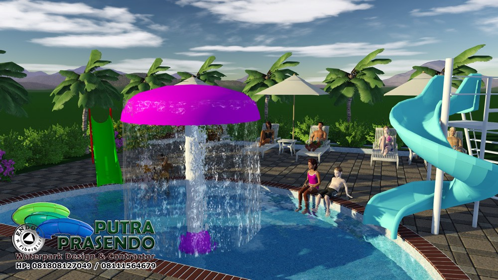 Jamur Air Waterpark Murah 3