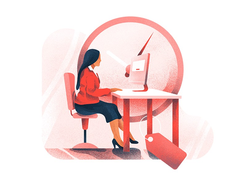woman-at-work-illustration-by-berin-catic