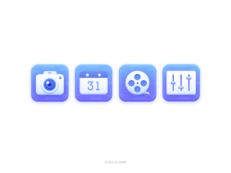 Multimedia icons by ICEH