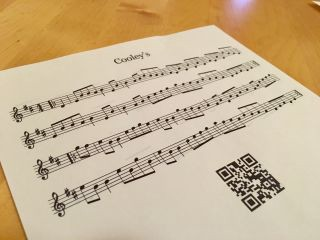 Experimenting with print stylesheets and QR codes.