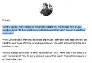 Kevin Rose Email Journal