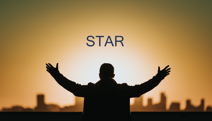 STAR approach to open-ended behavioral questions