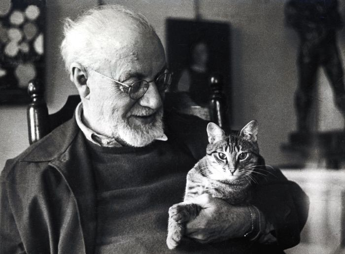 Matisse and a cat