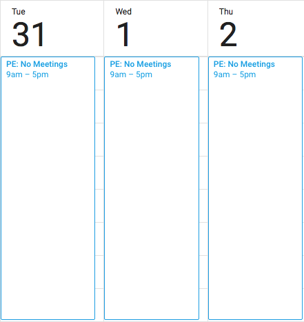 three day no meeting schedule for engineers pinterest engineering