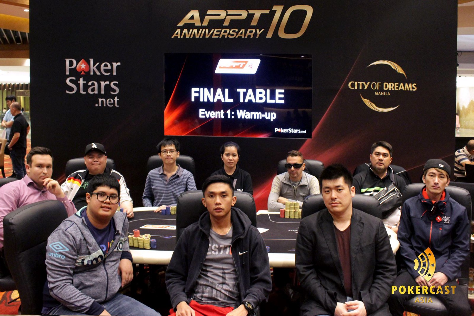 Final Table Warm Up