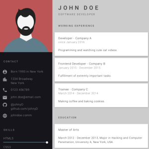 30 amazing vuejs open source projects for the past year v2018 best resume ever build fast and easy multiple beautiful resumes and create your best cv with vue and less 8839 stars on github ccuart Choice Image