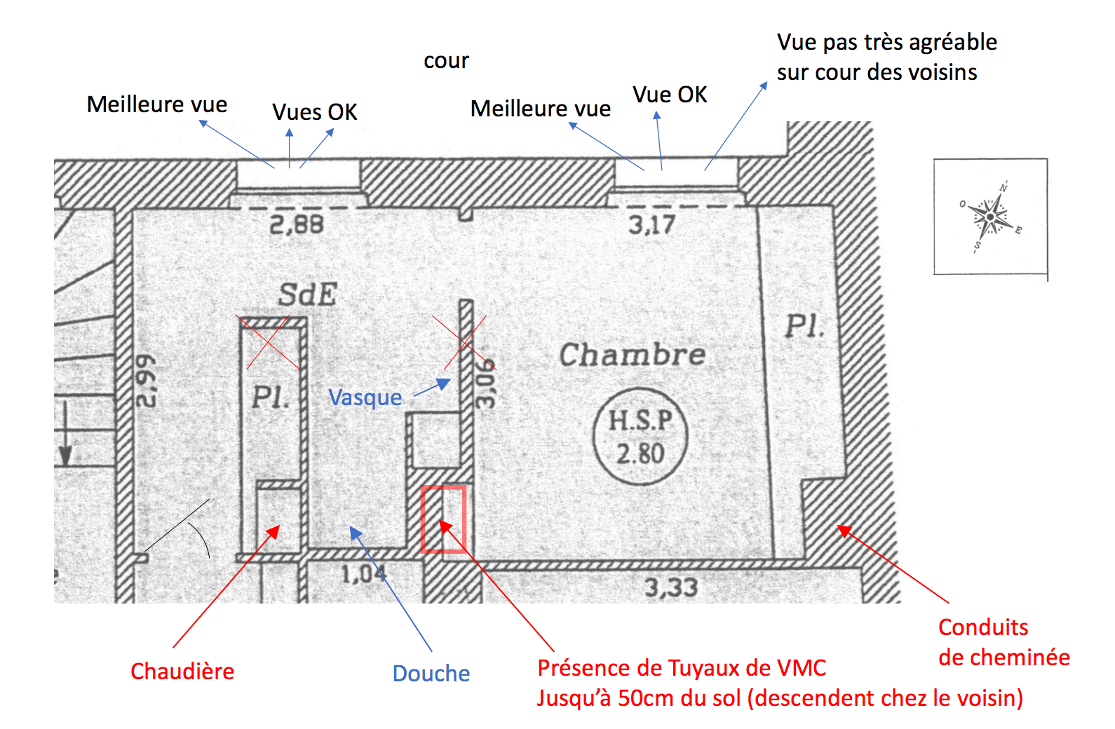 Avant apr s r am nagement d une suite parentale for Suite parentale 25m2