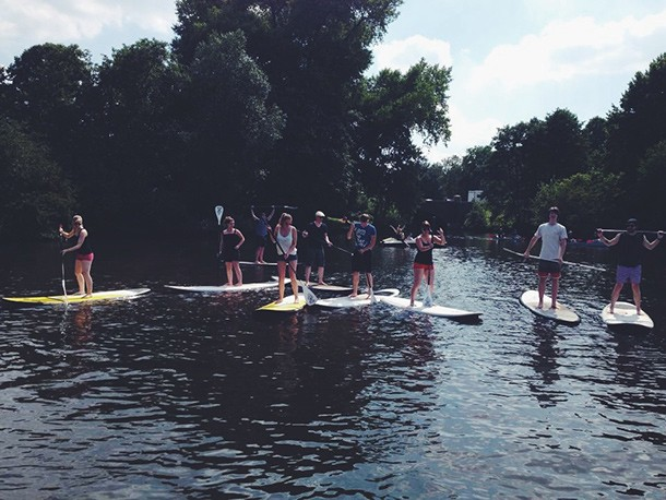 Stand-Up-Paddling Siteway