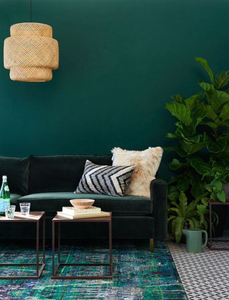 Green Wall Paint Simple Small House Designfind What Are The 3 Best Shades Of