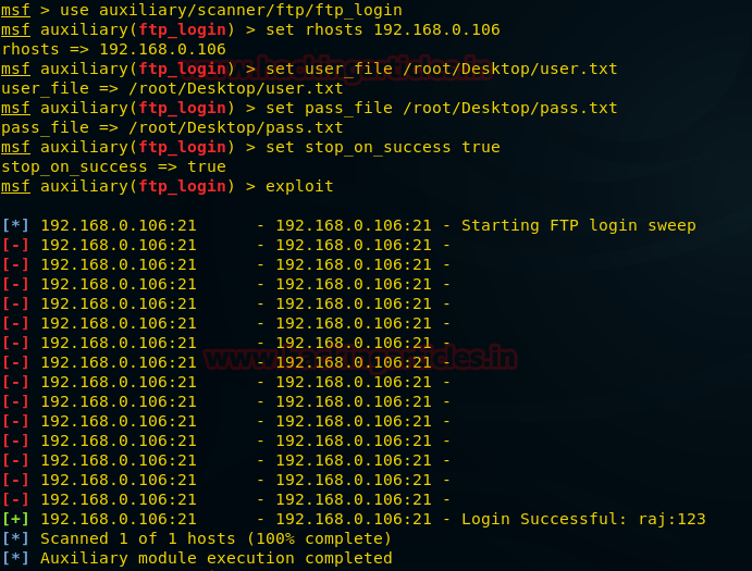 Penetration Testing of an FTP Server – Shahmeer Amir